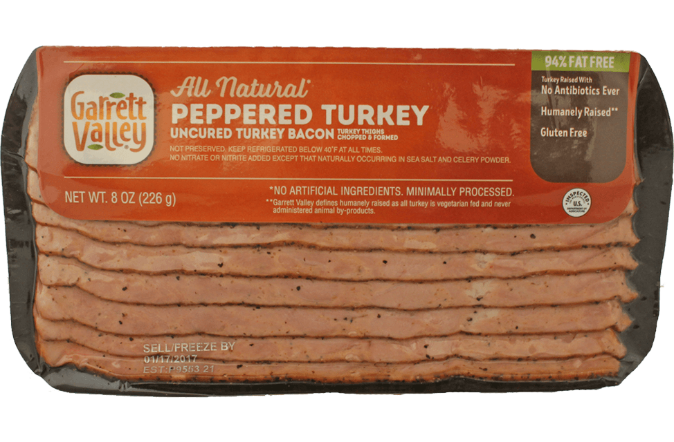 71174-GAV-Uncured-Peppered-Turkey-Bacon-8oz-Product-Photo